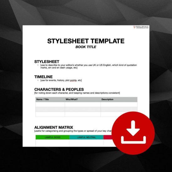 Author's Stylesheet Template